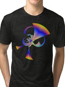 Running Rainbow Horns Tri-blend T-Shirt