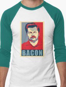 Ron hope swanson  Men's Baseball ¾ T-Shirt