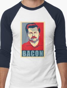 Ron hope swanson  Men's Baseball ¾ T-Shirt