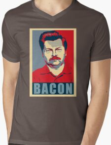 Ron hope swanson  Mens V-Neck T-Shirt