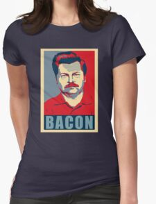 Ron hope swanson  Womens Fitted T-Shirt