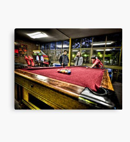 Pool - HDR Canvas Print