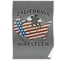 CALIFORNIA WRESTLER Poster