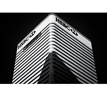 Shadow Banking Photographic Print