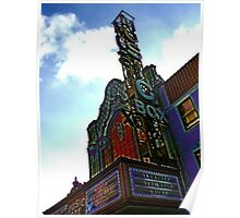 music box movie theater, chicago Poster