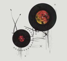 Retro Vinyls  by LookOutBelow