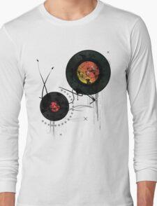 Retro Vinyls  Long Sleeve T-Shirt