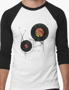 Retro Vinyls  Men's Baseball ¾ T-Shirt