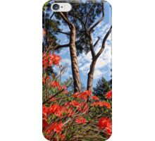 red rhododendron iPhone Case/Skin