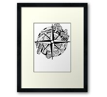 Compass EP Framed Print