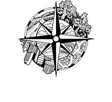 Compass EP Photographic Print
