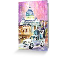Vatican Authentic Greeting Card