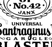 Pan Galactic Gargle Blaster - No. 42 [BLACK] Sticker