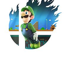 Smash Hype - Luigi by Jp-3