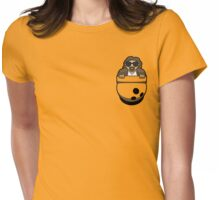 Pocket Dude (02) Womens Fitted T-Shirt