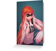 Inkling Girl - Humanized Version Greeting Card