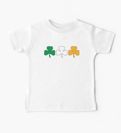 Ireland Shamrock Flag Baby Tee