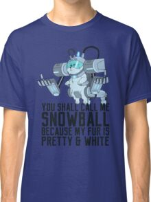 Snowball - Rick and Morty Classic T-Shirt