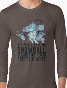 Snowball - Rick and Morty Long Sleeve T-Shirt