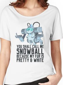 Snowball - Rick and Morty Women's Relaxed Fit T-Shirt