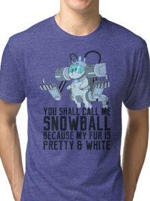 Snowball - Rick and Morty Tri-blend T-Shirt