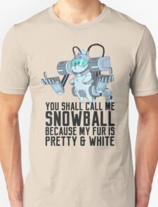 Snowball - Rick and Morty Unisex T-Shirt