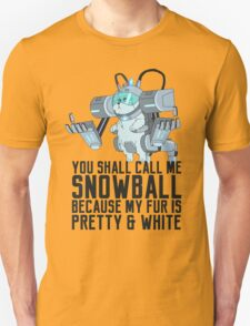 Snowball - Rick and Morty T-Shirt