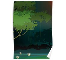 Greenish atmosphere of nature's gift      Poster