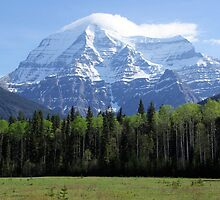 Mt Robson British Columbia Canada  by Don Siebel