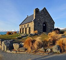 The Church Of The Good Shepherd. Tekapo, South Island, New Zealand. by Ralph de Zilva