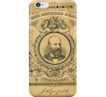 President J.A. Garfield iPhone Case/Skin