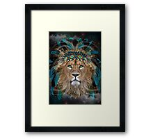 Fight For What You Love (Chief of Dreams: Lion)  Framed Print
