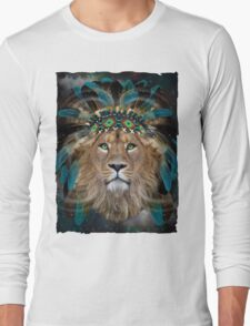 Fight For What You Love (Chief of Dreams: Lion)  Long Sleeve T-Shirt