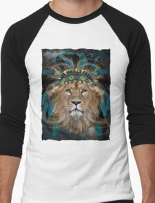 Fight For What You Love (Chief of Dreams: Lion)  Men's Baseball ¾ T-Shirt