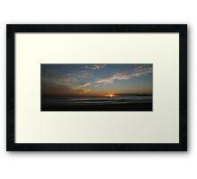 Sunshine Coast Sunrise Framed Print
