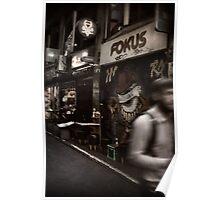 Melbourne's Laneways & Alleys 17 Poster
