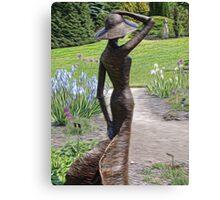 lady sculpture Canvas Print