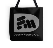 """DeaFM Record Co. - """"Bass"""" Logo Tote Bag"""
