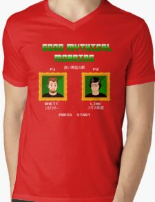 Good Mythical Morning (Famicom-Style) Mens V-Neck T-Shirt