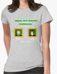 Good Mythical Morning (Famicom-Style) Womens Fitted T-Shirt