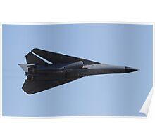 F-111 High speed pass Poster