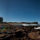 Avalon Beach Panoramic by Hugh McKay