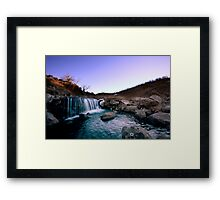 Lost in Sight and Sound Framed Print