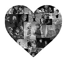 I Heart Frozen Photographic Print