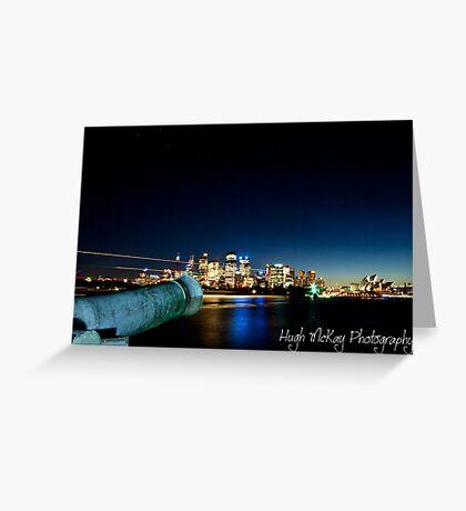 Night Canon Greeting Card
