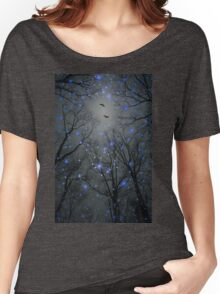 The Sight of the Stars Makes Me Dream (Geometric Stars Remix) Women's Relaxed Fit T-Shirt