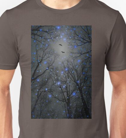The Sight of the Stars Makes Me Dream (Geometric Stars Remix) Unisex T-Shirt