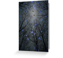 The Sight of the Stars Makes Me Dream (Geometric Stars Remix) Greeting Card