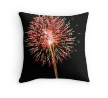 Fireworks Lollypop Throw Pillow