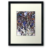quiet tree Framed Print